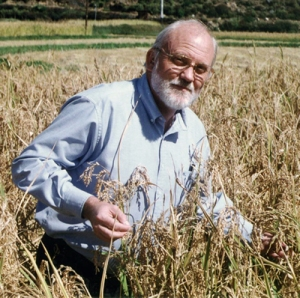 Robert Zeigler, Director General of the International Rice Research Institute