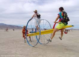 "Teeter Totter from 2004 ""Burning Man"""
