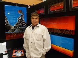 Navajo Artist Gilmore Scott