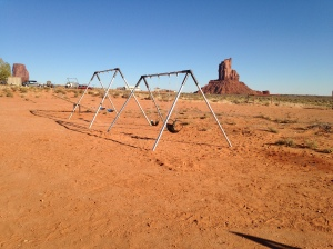 Completed Playground Near Monument Valley UT