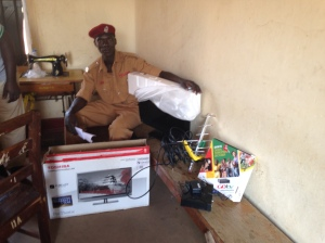 Delivering a TV and a Multi-Channel Subscription Service to the Men's Prison in Lira