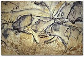 Pride of Lions' Artwork from Chauvet Cave, France