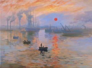 """""""Impression, Soleil Levant"""" by Claude Monet"""