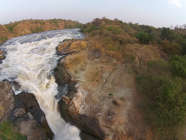 The Top of Murcheson Falls Looking Upriver