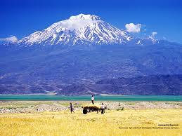 Mt. Ararat in What Is Today Eastern Turkey