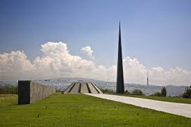 The Armenian Genocide Memorial Complex in Erevan, Armenia