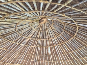 Bamboo Frame for the Thatched Roof