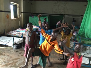 Inside the Boy's Dormitory at Nancy School for the Deaf