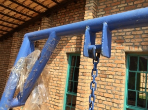 Swing Hangers and Corners for the UN-constructed Preschool