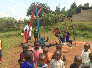 Swing Set at the Preschool/Primary School