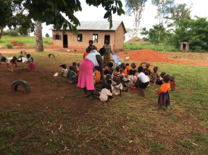 An Outdoor Class near Gulu, Uganda