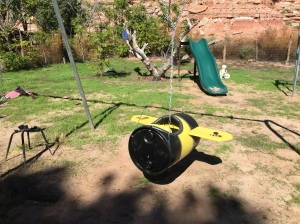 Bubble Bee Swing Seat installed at St. Christopher's Mission