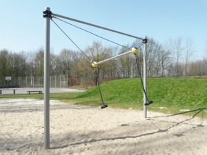 """The """"VIP Swing"""" constructed by Berliner Seilfabrik"""