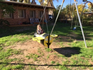 Bumble Bee Swing Seat