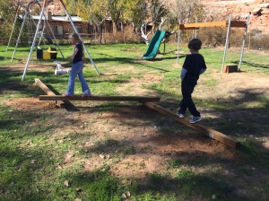 Three-Section Balance Beam Installed at Mission