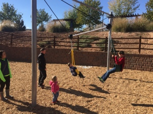 """Temporarily Re-rigged """"VIP Swing"""" in St. George UT"""