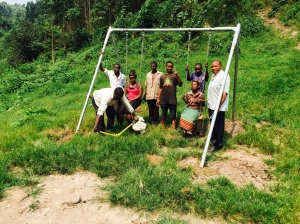 Small Swing Set for the Batwa Pygmies (with Installation Crew)
