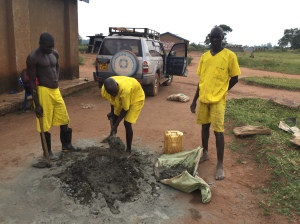 Ugandan Prisoners Are Easy to Spot in Their Colorful Yellow Uniforms