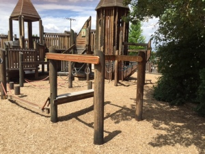 Monkey Ring Apparatus in Pleasant Grove UT Park