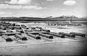 The Barracks at Topaz during World War II