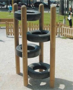 This Tire Climber Adds a Stair-step Component