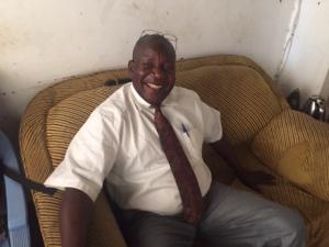 LDS Branch President George Akera