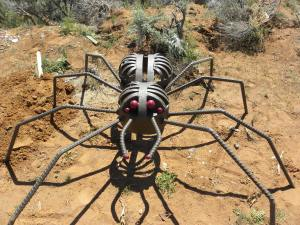 This Artistic Spider Adds Mirth to a Playground near Blanding UT