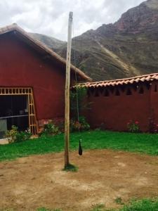 Tether Ball Pole near Calca, Peru