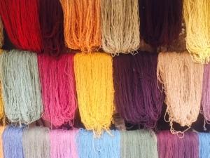 Colorful Alpaca Yarns