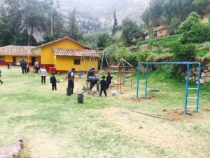 Playground Equipment Installed at Urco