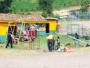 Playground Equipment Installed at Rayampata School