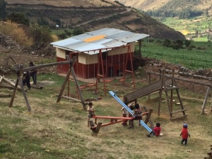 Playground Equipment Installed at the Unuraqay preschool