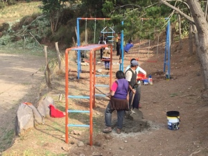 Playground Equipment Installed at the Unuraqay Primary School