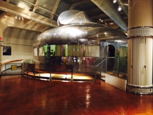 Fuller's Dymaxion House Located Inside the Henry Ford Museum