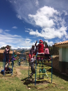 Christmastime at the Quechua Community School in Ccolcca