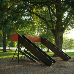 Side View of Yoguchi's Atlanta Playground Slide