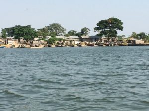 A Fishing Village on Kava Island in Lake Victoria