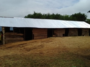 New Roof on the Milhandu School