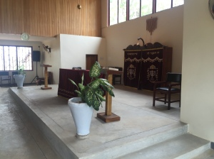 Inside of the Synagogue Located near Mbale, Uganda