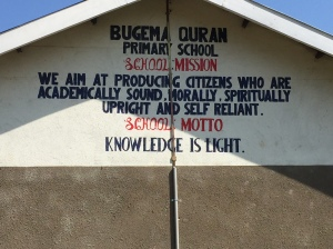 Islamic Primary School Located Just Outside of Mbala, Uganda
