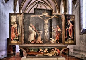 Issenheim Altarpiece in the Colmar, France, Museum