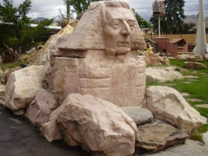 Joseph Smith Sphinx in Gilgal Garden Park, Salt Lake City